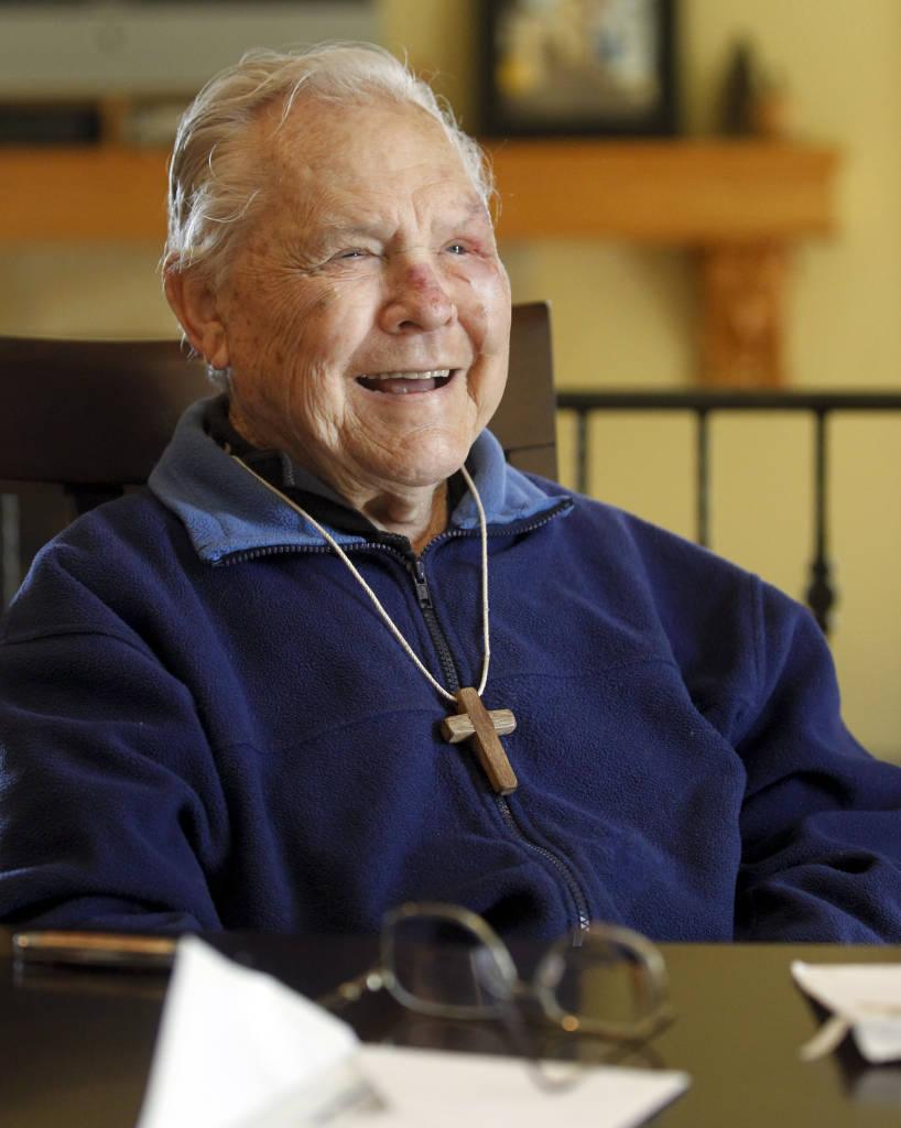 Bob krause, 90jähriger mit Diabetes seit 85 Jahren