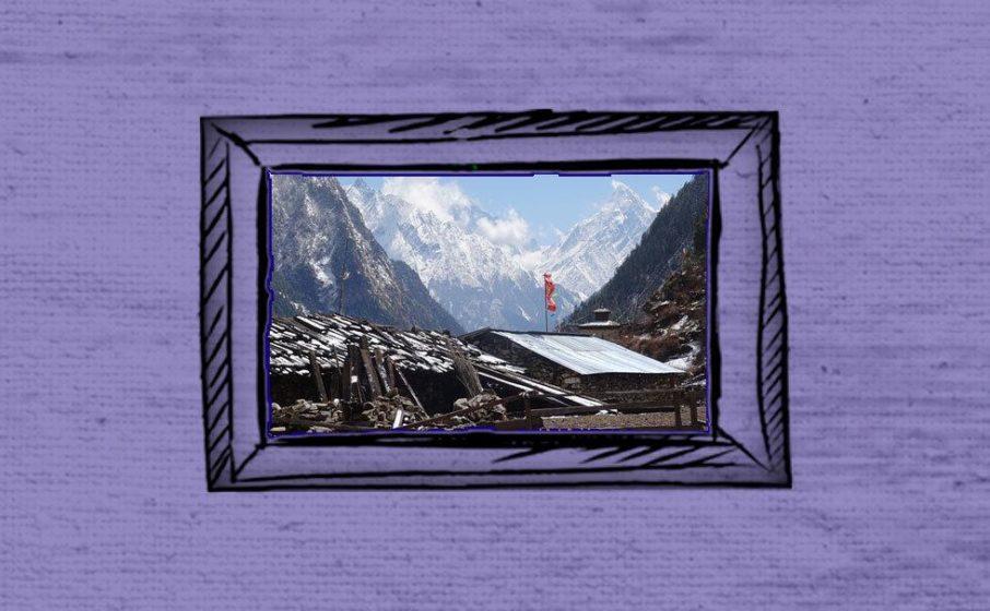 Landschaft in Nepal