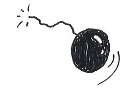 bombe zuendschnur