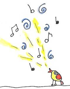 kleines singendes Vogerl
