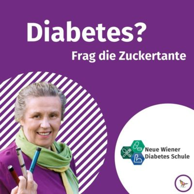 Titelbild Podcast Diabetes? Frag die Zuckertante
