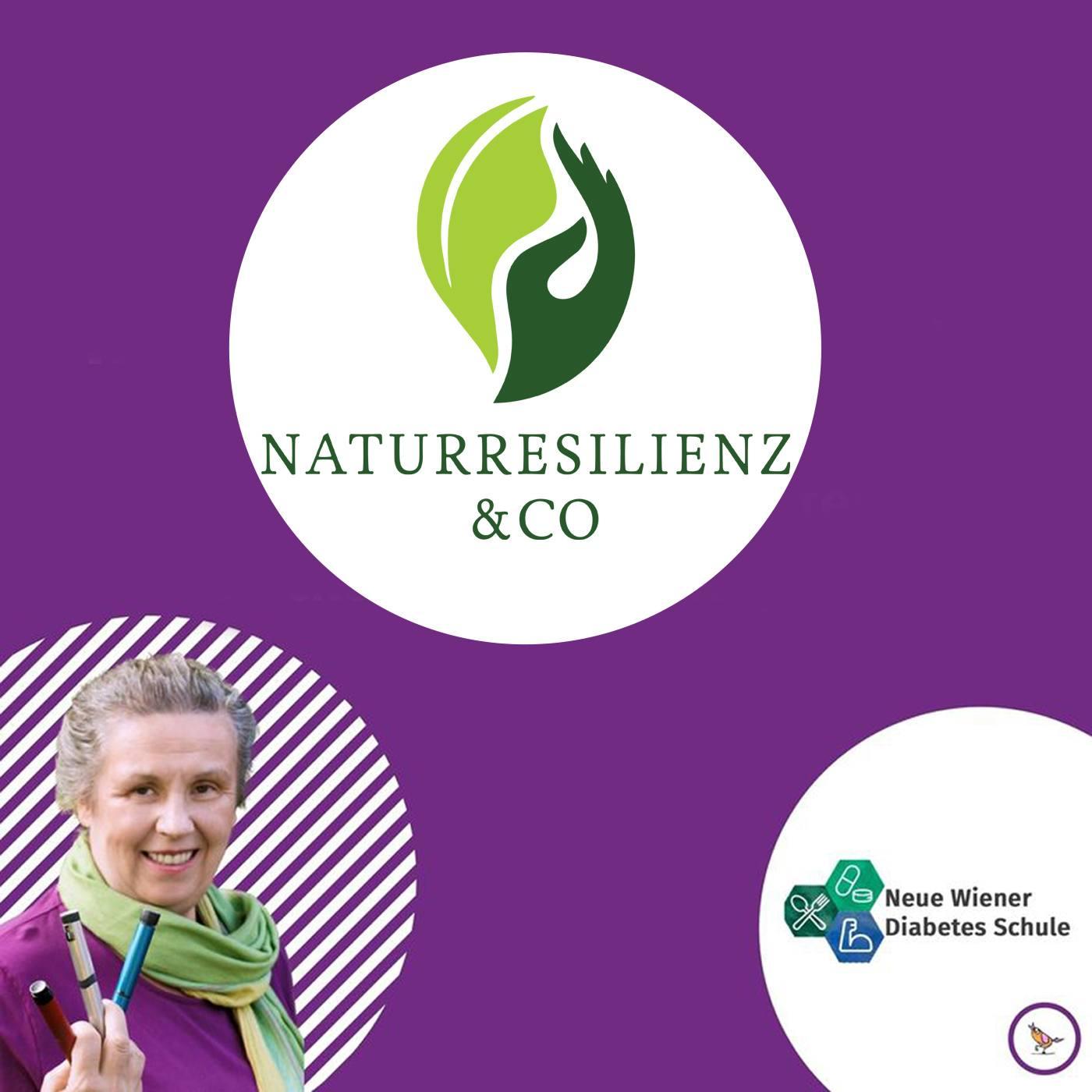 Titelbild Podcast Naturresilienz Training mit Logo